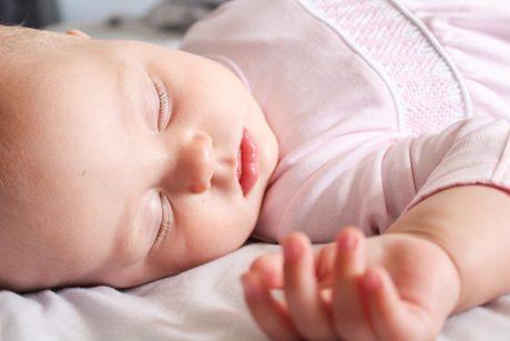 Baby sleeping.